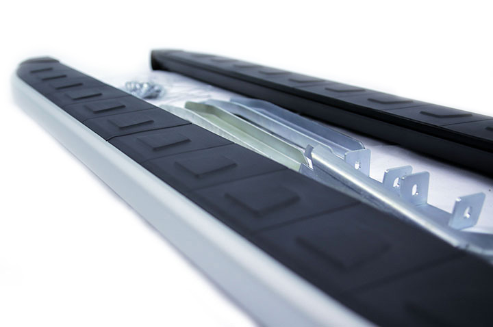 Alyans Silver Side steps Rugged Running Boards