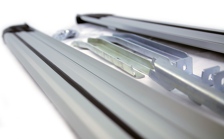 Brilliant Edition Silver Side Steps Quality Running Boards