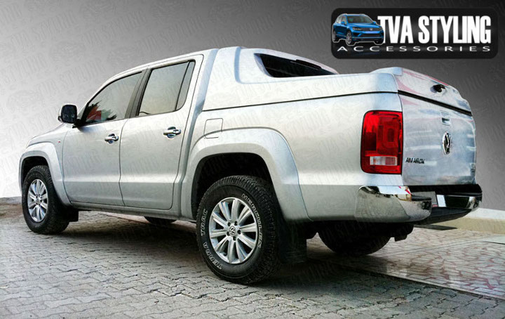 Our VW Amarok Hardtop Covers really upgrade your VW Amarok Pickup. Buy all your pickup accessories online at TVA Styling.