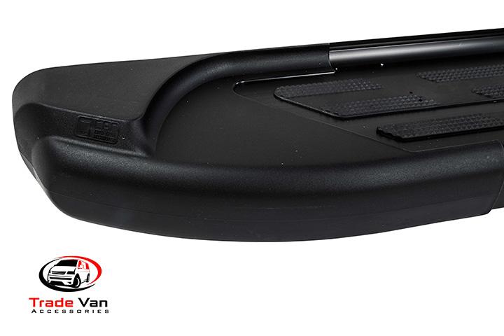 Sapphire Black V2 Side Steps Quality Running Boards