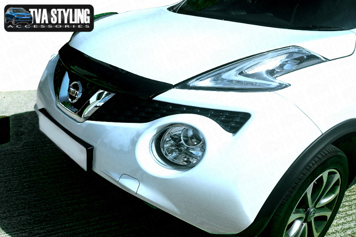 Our Nissan Juke Bug Shield really upgrade your Nissan Juke 4x4. Buy all your Van accessories online at TVA Styling.