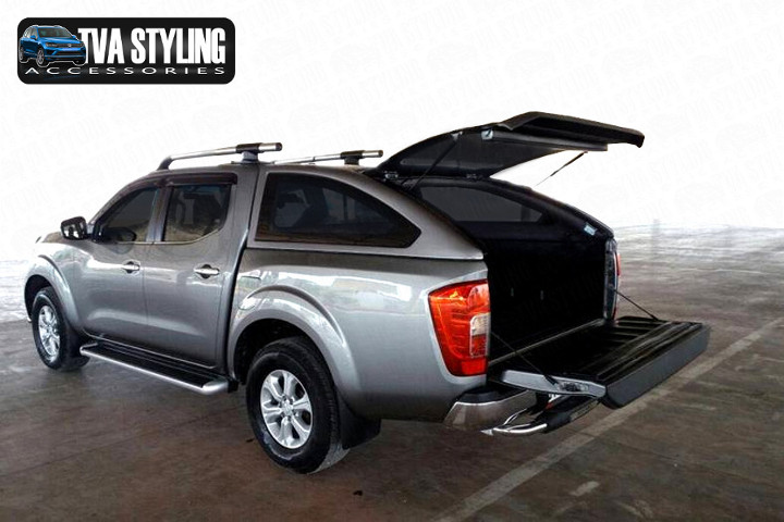 Our Nissan Navara Hardtop Covers really upgrade your Nissan Navara Pickup. Buy all your pickup accessories online at TVA Styling.