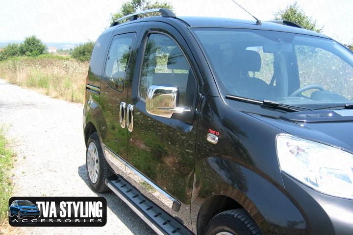 Our Citroen Nemo Mirror Covers really upgrade your Citroen Nemo Van. Buy all your Van accessories online at TVA Styling.