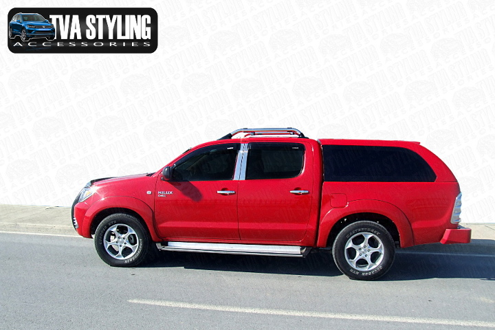 Our Toyota Hilux Hardtop Covers really upgrade your Toyota Hilux Pickup. Buy all your pickup accessories online at TVA Styling.