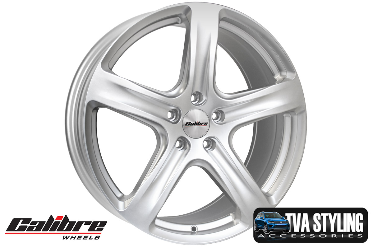 "Our VW  Caddy 18"" Alloy Wheels Really Enhance The Styling Of Your Caddy. Beautifully Formed With Superior Design. Load Rated. Buy Online At Trade Van Accessories."