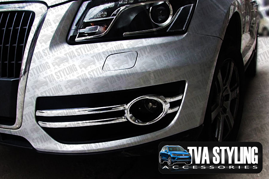 Our chrome Audi Q5 front fog light covers are an eye-catching and stylish addition for your car. Buy online at Trade car Accessories.