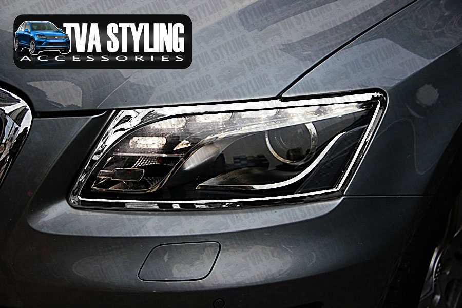 Our chrome Audi Q5 head light covers are an eye-catching and stylish addition for your car. Buy online at Trade car Accessories.