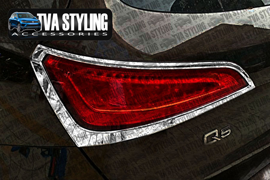 Our chrome Audi Q5 rear light covers are an eye-catching and stylish addition for your car. Buy online at Trade car Accessories.