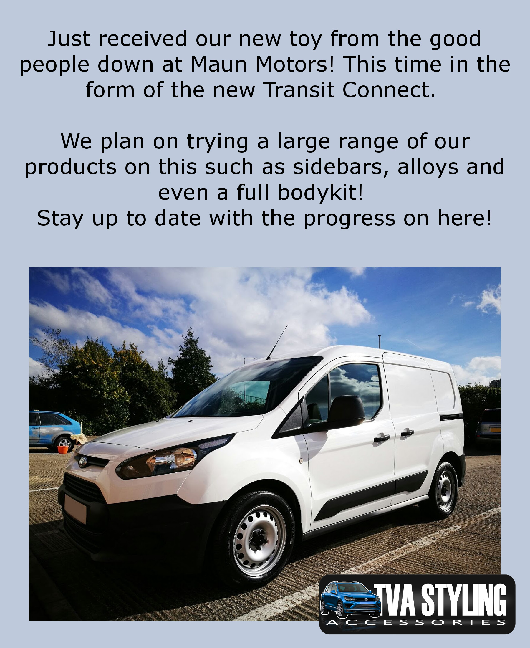 New Ford Transit Connect Vans For Sale: Our New TVA Transit Connect Project!
