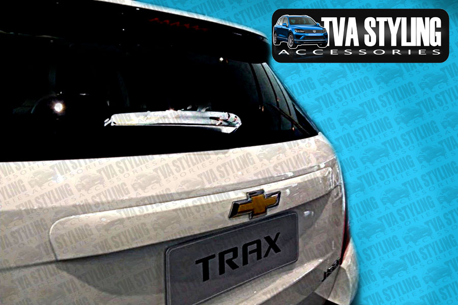 Our chrome Chevrolet Trax rear wiper cover is an eye-catching and stylish addition for your car. Buy online at Trade car Accessories.