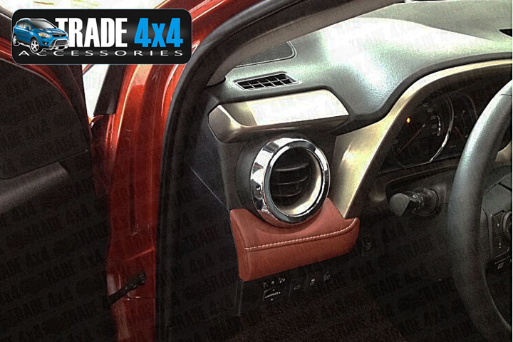 Our chrome Toyota Rav4 Interior dash Air Vent covers are an eye-catching and stylish addition for your car. Buy online at Trade car Accessories.