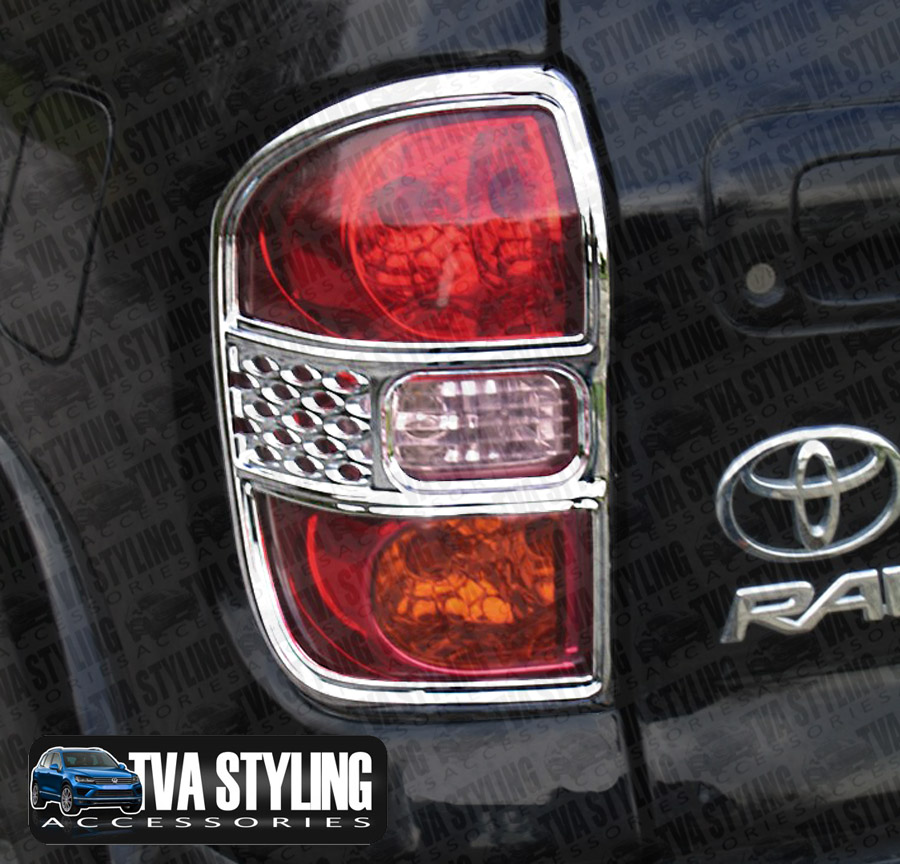 Our Chrome Toyota Rav4 Rear Light Covers Are An Eye Catching And Stylish  Addition For