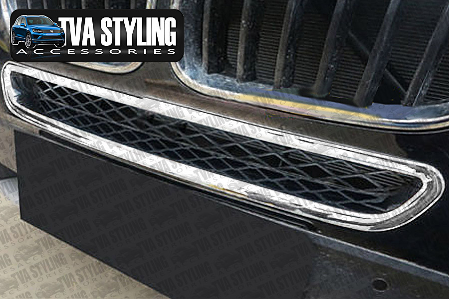 Our chrome BMW X3 front bumper grille cover is an eye-catching and stylish addition for your car. Buy online at Trade car Accessories.