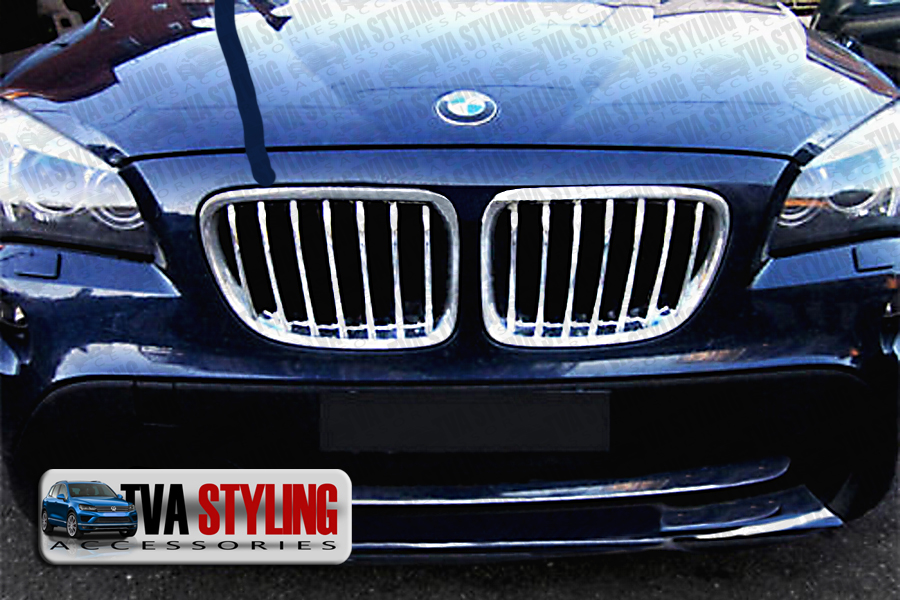 Our chrome BMW X1 front grille cover is an eye-catching and stylish addition for your car. Buy online at Trade car Accessories.