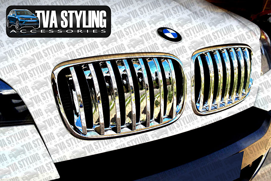 Our chrome BMW X3 front grille cover is an eye-catching and stylish addition for your car. Buy online at Trade car Accessories.