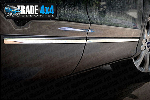 Our chrome ford kuga side moulding covers are an eye-catching and stylish addition for your 4x4. Buy online at Trade 4x4 Accessories.