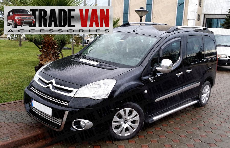 Our Chrome Mirror Covers for Citroen Berlingo Van and Multispace are a great citroen Van Styling Accessory. Buy Online at Trade Van Accessories .co.uk