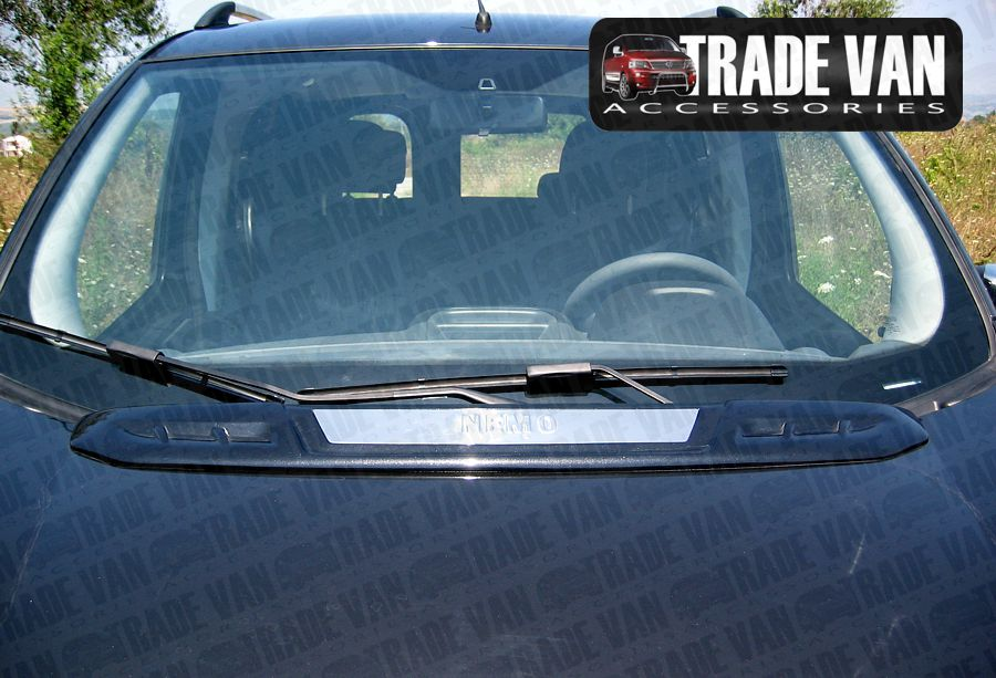 Our Citroen Nemo Bonnet Hood Spoilers really make your vehicle stand out from the crowd. Moulded using the latest GRP technology they are supplied primed ready for painting. Buy online at Trade Van Accessories.
