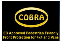 cobra 4x4 van styling accessories in Chrome and Stainless Steel