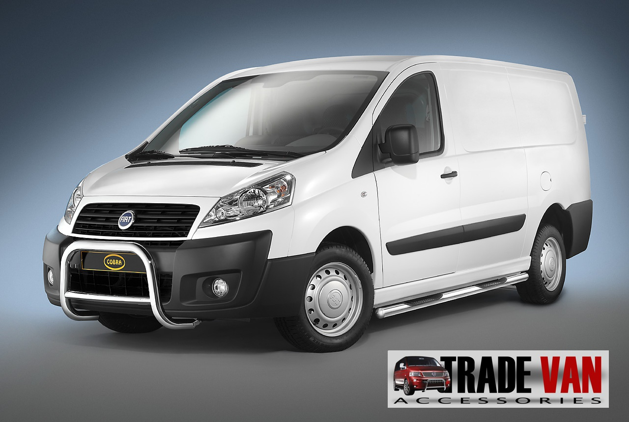 Volkswagen European Delivery >> Fiat Scudo Front A Bar Bull Bars Cobra Scudo van accessories trade van styling