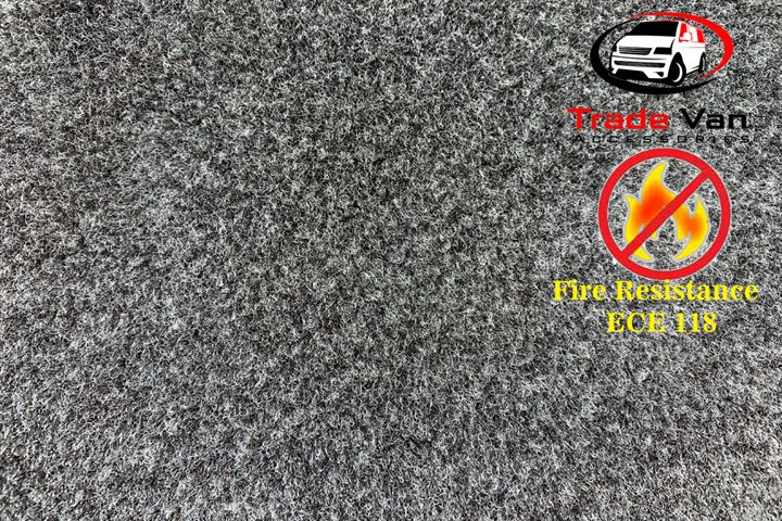 VAN CARPET LINING FIRE RESISTANT ANTHRACITE