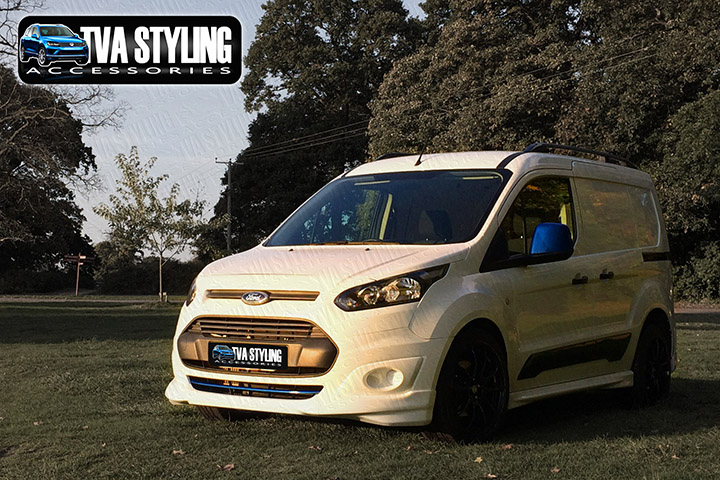 Ford Connect Body Kit M-Sport and Rear Spoiler