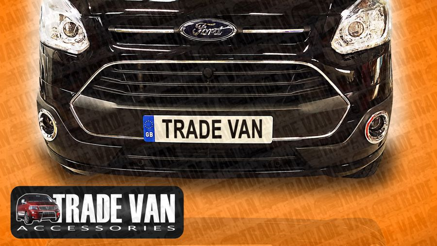 Our Transit Custom front Radiator Grille Covers are a great front styling accessory upgrade for your for custom and Torneo people carrier. Buy your Ford Styling Accessories online at Trade Van Accessories