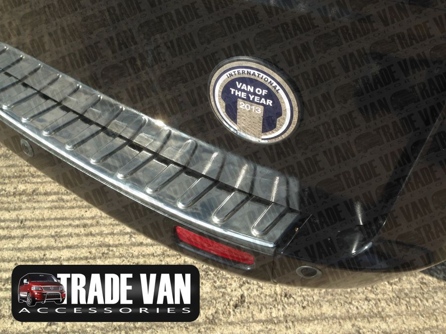 2012+ Brushed Bumper Sill Protector Trim Cover To Fit Transit Custom