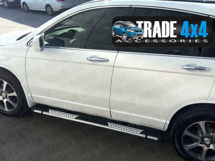 Honda Crv Side Steps Sidesteps Bars Cr V Suv Accessories