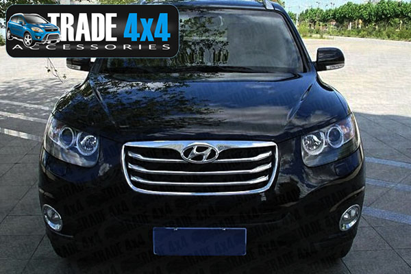 Our Chrome Hyundai Santa Fe Front Fog Light Covers Are An Eye Catching And  Stylish