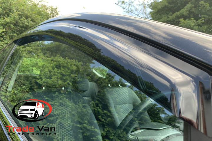 Dark Tint Wind Deflectors Set of 2