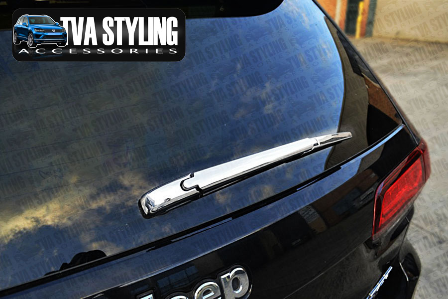 Our chrome Jeep Grand Cherokee rear wiper cover is an eye-catching and stylish addition for your car. Buy online at Trade car Accessories.