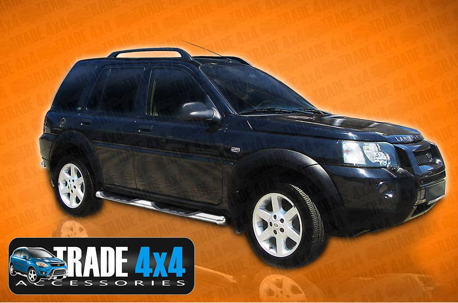 Our Viper Side steps for Land rover Freelander and Range Rover evoque really upgrade your Lad Rover Styling. Buy your 4x4 Accessories online today