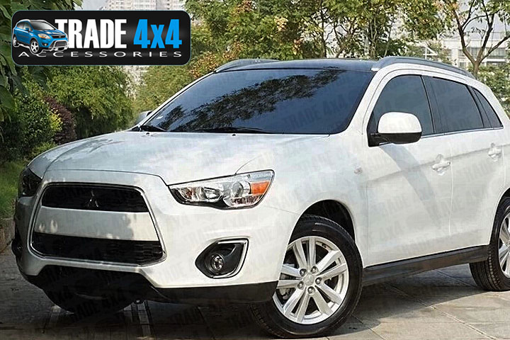 Our chrome Mitsubishi ASX front grille frame cover surround trim is an eye-catching and stylish addition for your 4x4. Buy online at Trade 4x4 Accessories.