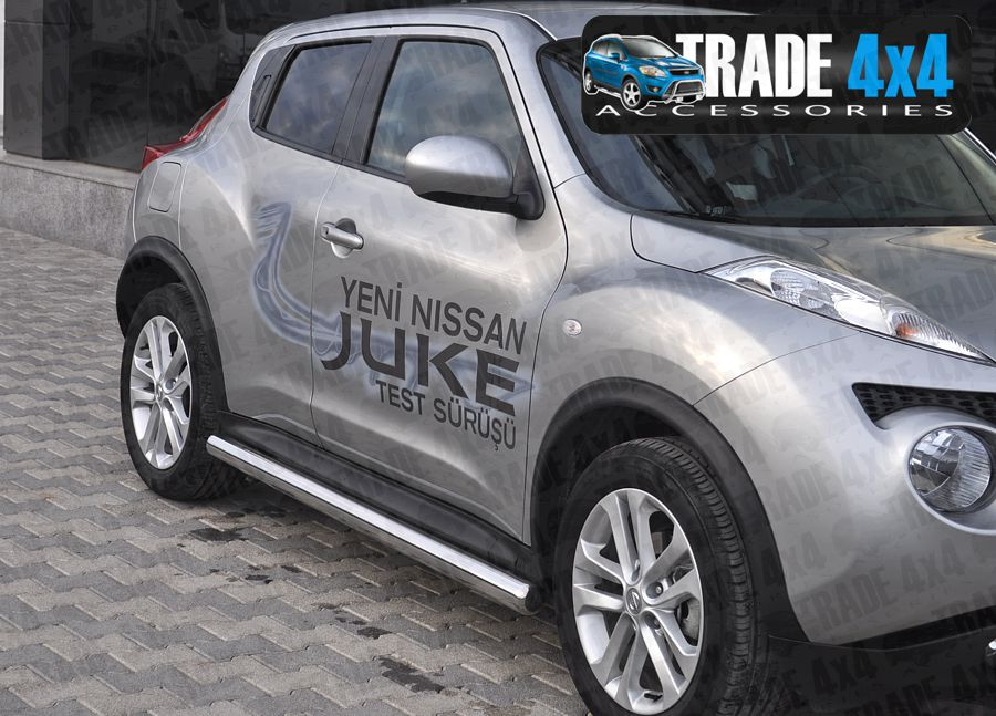 Nissan Juke Side Bar Protection Juke 4x4 Side Styling at Trade 4x4 Accessories