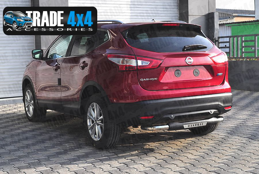 Our Nissan Qashqai Rear Step Bar, Bumper protection bars are a great J11  Qashqai Styling