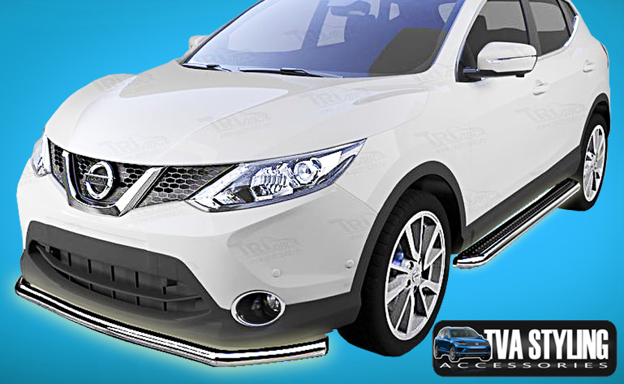 Our Stainless Steel Nissan Qashqai City Front A Bull Bar is an eye-catching and stylish addition for your van. Buy on at Trade van Accessories.