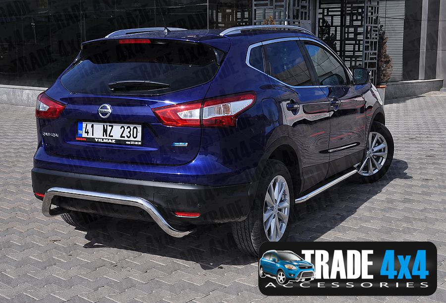 Our Nissan Qashqai 2014 Rear Bar, Bumper Protection Bars are a practical  and stylish accessory