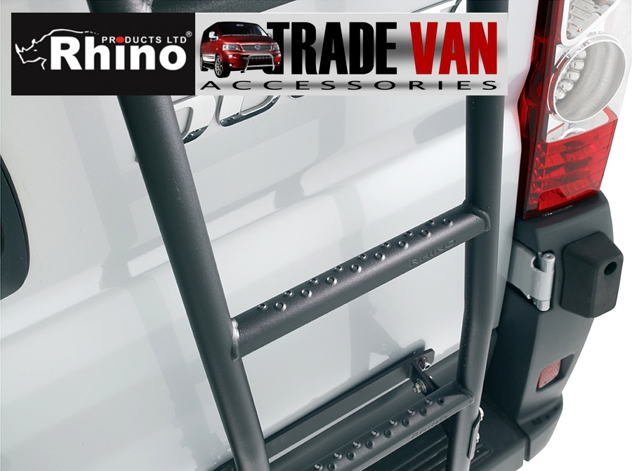 Rhino Ladder Roof Bars Rack Transit Ducato Sprinter