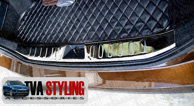 Our stainless steel BMW X1 rear boot guard inner bumper protector is an eye-catching and stylish addition for your car. Buy online at Trade car Accessories.
