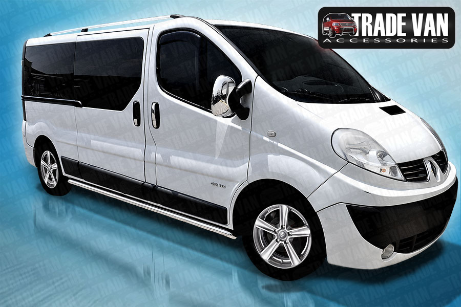 Nissan Primastar Side Bars are avilable to buy online at Trade Van Accessories