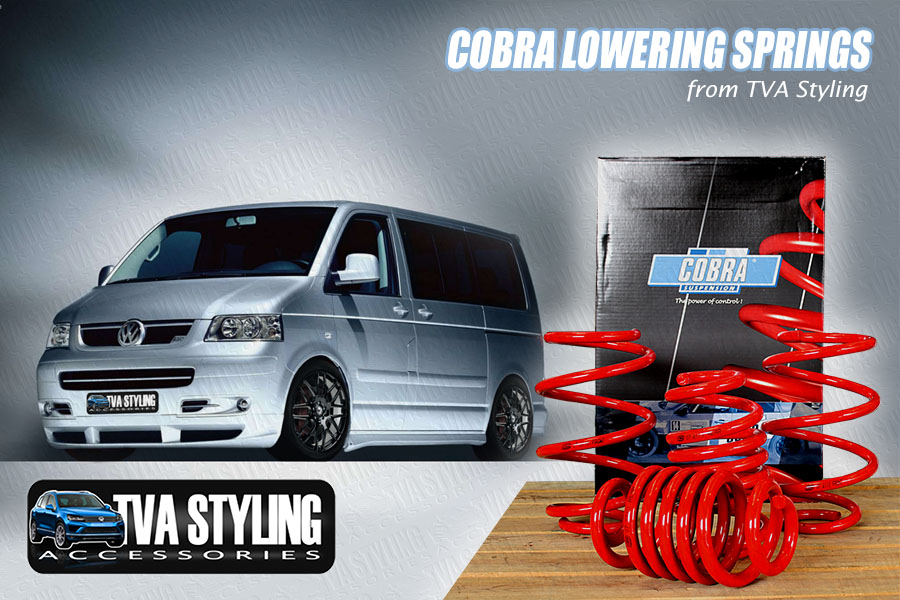 VW T5 T6 & T32 Lowering Suspension Springs from Trade Van Accessories