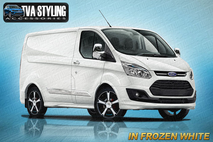 Our Ford Transit Custom Full Body Kit Spoiler Set Finished In ALL The Official Colours