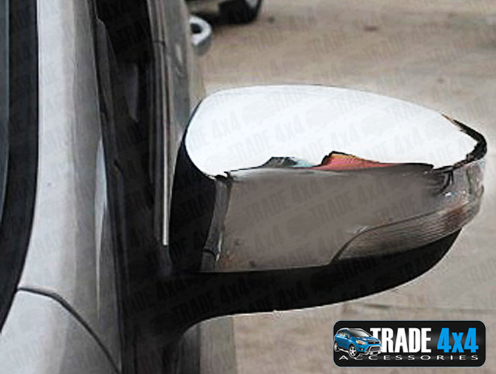 TVA Ford Kuga 2012-on Chrome Door Wing Mirror Cover Trim Accessory set