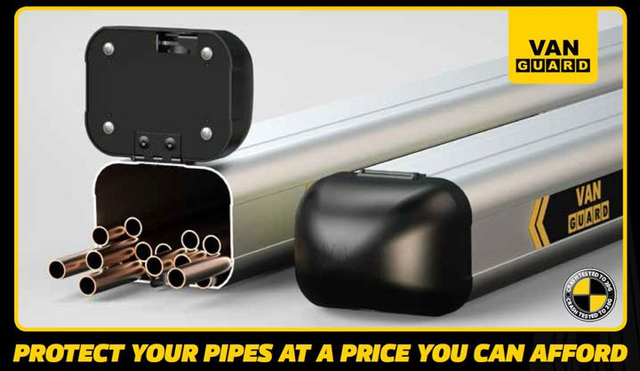 Pipe Carrier by Van Guard made in the UK. Buy online at Trade Van Accessories.