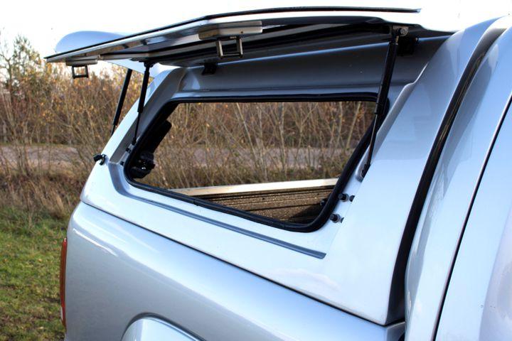 Volkswagen Amarok Hardtop with side opening windows