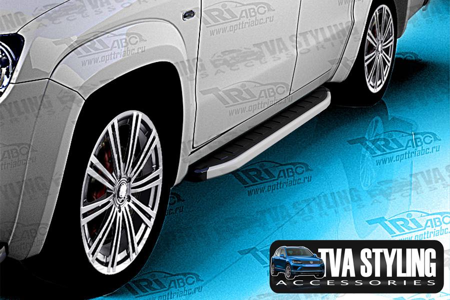 VW Amarok Side Steps Alyans Runing Boards 2010-up