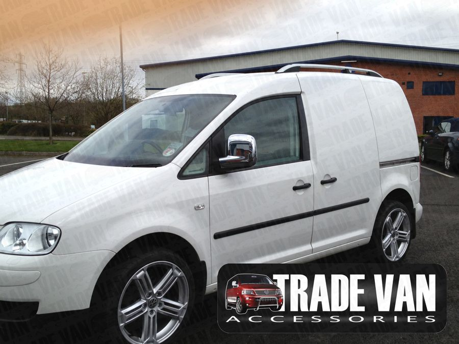 Our VW Caddy Mirror Covers ABS Chrome transform the Side Styling of your Caddy Van or Caddy Maxi MPV. Buy online at Trade Van Accessories.