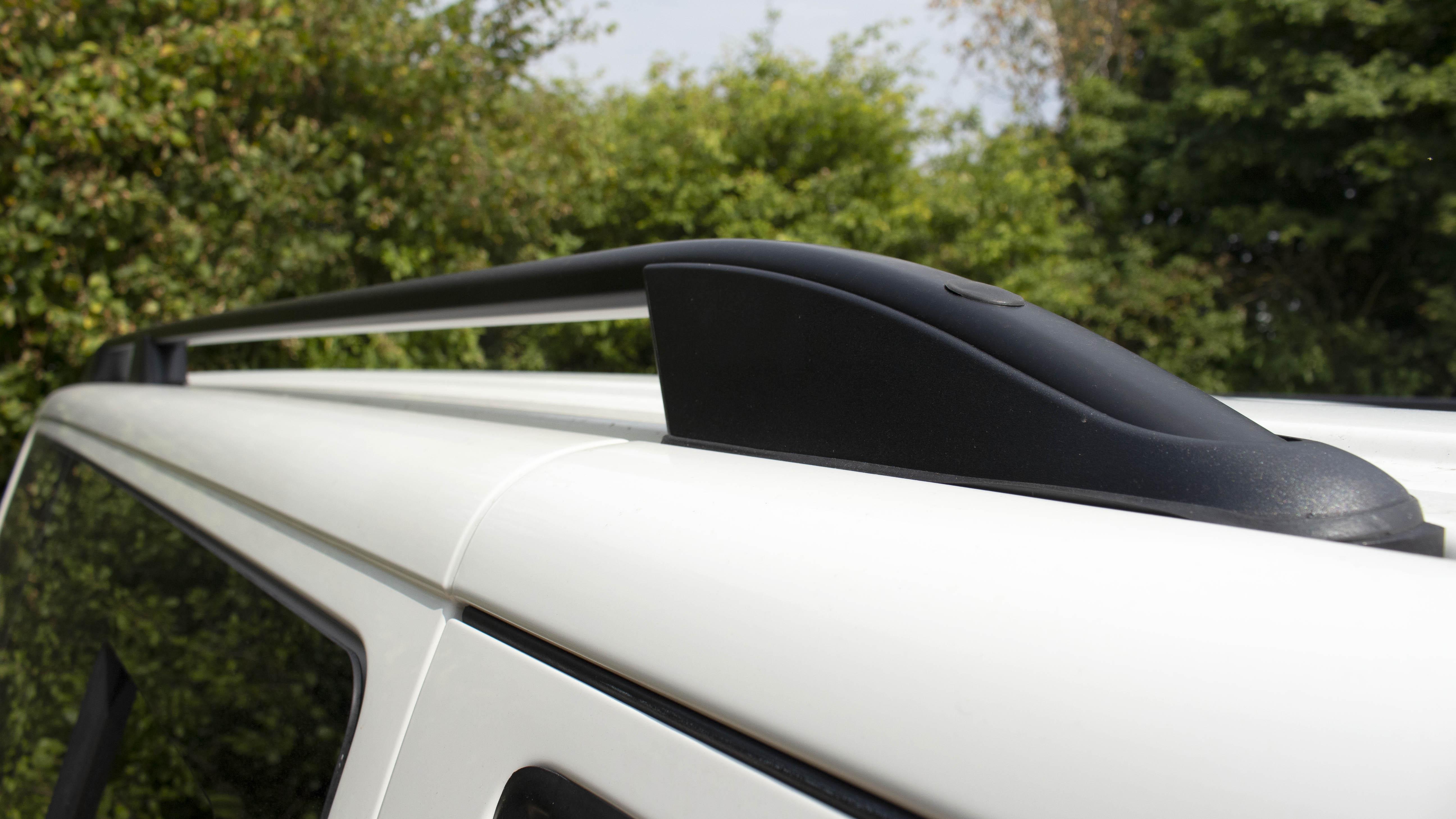 VW Transporter T5 T6 Aluminium Roof Rails Black SWB