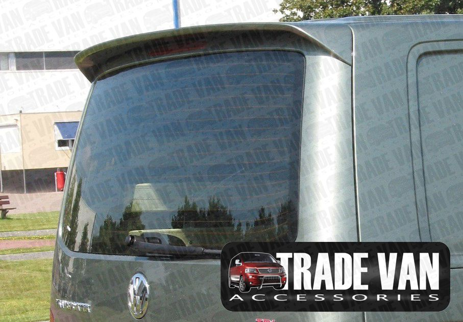 Our VW Transporter accessories include tailgate and twin door roof spoilers as parts of VW T4 Styling Accessories range. Buy online at Trade Van Accessories